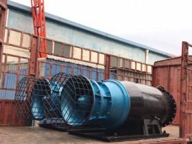 700QZB雪橇式潜水轴流泵发往重庆
