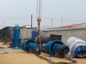 900QZB潜水轴流泵实验OK即将现场安装