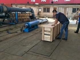 300QJW320-70-110KW卧式潜水泵发往江西