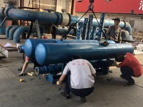 浮筒潜水泵用于湖泊取水