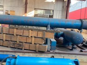 卧式潜水泵用于水池取水,接力供水