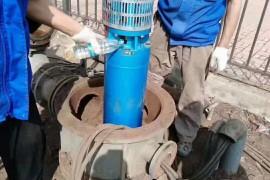 125方160米耐高温热水深井泵天津塘沽下井