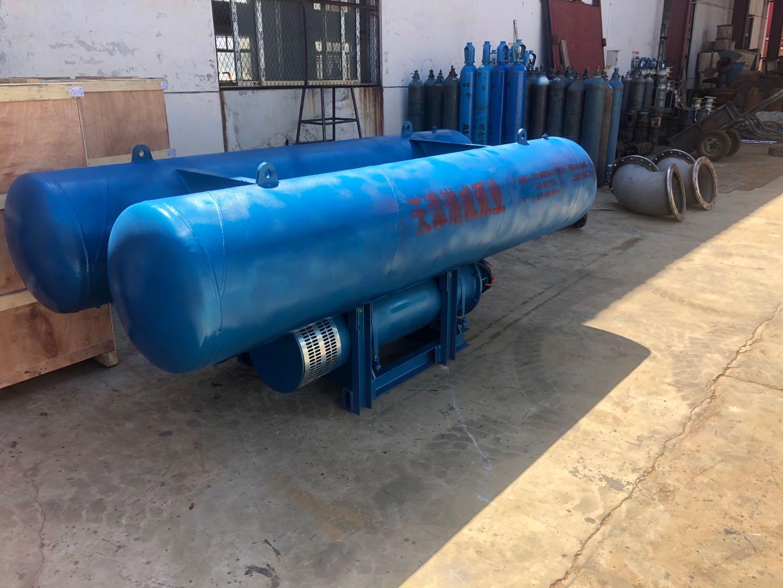 240方每小时QCQJF潜成浮筒泵已OK准备发货第2张-潜水电机-潜水电泵-高压潜水电机-天津潜成泵业