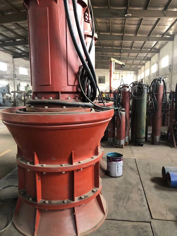 900QZB-280kw潜水轴流泵第2张-潜水电机-潜水电泵-高压潜水电机-天津潜成泵业